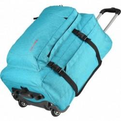 Рюкзак на колесах Travelite BASICS/Turquoise Print TL096351-23
